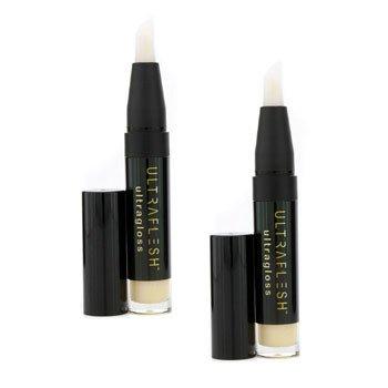 Fusion Beauty Ultraflesh Ultragloss Duo Pack - # Aglow 2x3.8g/0.13oz