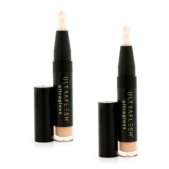 Fusion Beauty Ultraflesh Ultragloss Duo Pack - # Sunlit 2x3.8g/0.13oz
