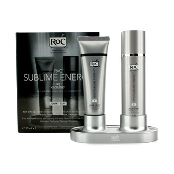 ROC Sublime Energy Day Set: E-Pulse Concentrate 30ml/1oz + Activating Moisturiser SPF 20 30ml/1oz 2x30ml/1oz