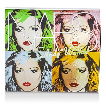 NARSAndy Warhol Collection Debbie Harry Eye And Cheek Palette (4x Eyeshadows, 2x Blushes) 6pcs