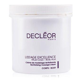 DecleorLiss'Age Excellence Revitalizing Massage Cream (Salon Size) 500ml/16.9oz