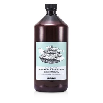 DavinesNatural Tech Detoxifying Scrub Shampoo (For Atonic Scalp) 1000ml/34oz