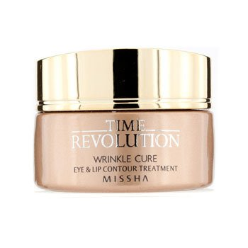 MisshaTime Revolution Wrinkle Cure Eye & Lip Contour Treatment 25ml/0.9oz