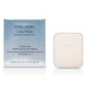 Estee LauderCyberWhite Brilliant Perfection Full Spectrum Brightening Powder Makeup SPF25 Refill10g/0.35oz