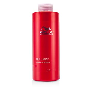 WellaBrilliance Acondicionador (Para Cabello Te�ido) 1000ml/33.8oz