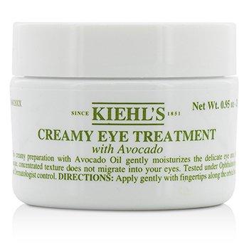 Kiehl's Creamy Eye Treatment with Avocado S06028  28g/0.95oz