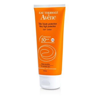 AveneVeldig H�ybeskyttende Lotion SPF 50+ (For sensitiv hud) 100ml/3.4oz