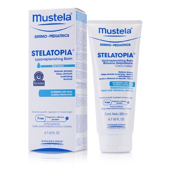 Stelatopia Lipid-Replenishing Balm (For Extremely Dry Skin) Mustela Stelatopia Lipid-Replenishing Balm (For Extremely Dry Skin) 200ml/6.7oz