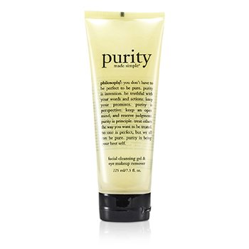 Philosophy Purity Made Simple Facial Cleansing Gel & Eye Makeup Remover 225ml/7.5oz