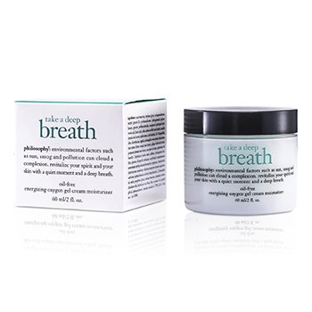 PhilosophyTake A Deep Breath Oil-Free Energizing Oxygen Gel Cream Moisturizer 60ml/2oz