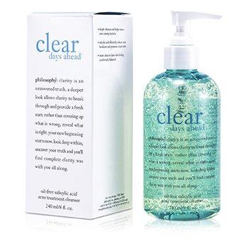 Philosophy Clear Days Ahead Oil-Free Salicylic Acid Acne Treatment Cleanser 240ml/8oz