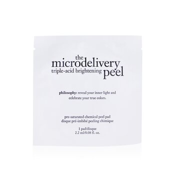 PhilosophyThe Microdelivery Triple-Acid Brightening Peel Pads 12pads