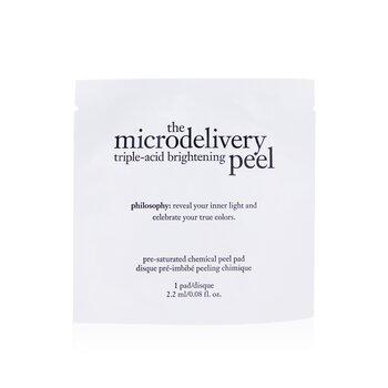 PhilosophyThe Microdelivery Triple-Acid Brightening Peel Pads 12pads