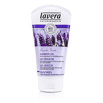LaveraShower Gel Organic Lavender & Organic Aloe Vera (For Irresistibly Soft Skin) 150ml/5oz
