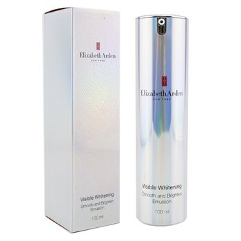 Elizabeth ArdenLo��o Visible Whitening Smooth and Brighten Emulsion 100ml/3.4oz