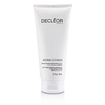 Decleor Aroma Cleanse 3 in 1 Suavizante Hidra-Resplandor y Mousse Limpiador  200ml/6.7oz