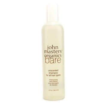 John Masters Organics Bare Unscented Shampoo  236ml/8oz