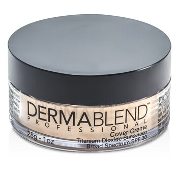 Image of Dermablend Cover Creme Broad Spectrum SPF 30 High Color Coverage  Pale Ivory 28g1oz
