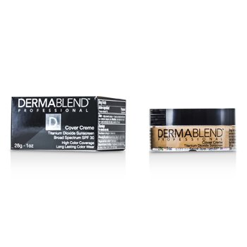 Image of Dermablend Cover Creme Broad Spectrum SPF 30 High Color Coverage  Almond Beige 28g1oz