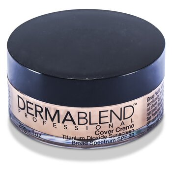 Dermablend Cover Creme Broad Spectrum SPF 30 (High Color Coverage) - Yellow Beige  28g/1oz