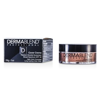 Dermablend Cover Creme Broad Spectrum SPF 30 (High Color Coverage) - True Beige 28g/1oz