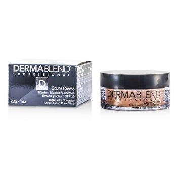 Image of Dermablend Cover Creme Broad Spectrum SPF 30 High Color Coverage  Warm Beige 28g1oz
