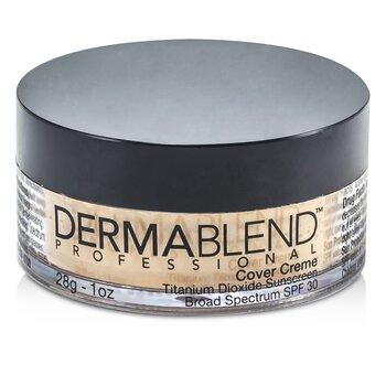 Image of Dermablend Cover Creme Broad Spectrum SPF 30 High Color Coverage  Caramel Beige 28g1oz