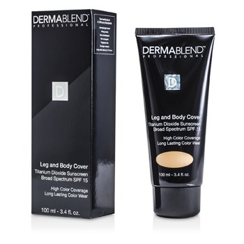 Dermablend Leg & Body Cover Broad Spectrum SPF 15 (High Color Coverage & Long Lasting Color Wear) - Suntan 100ml/3.4oz