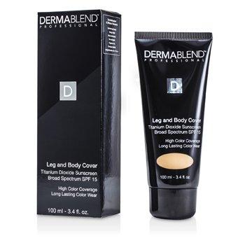 DermablendLeg & Body Cover SPF 15 (Full Coverage & Long Wearability) - Natural 100ml/3.4oz