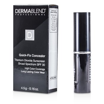 Dermablend Quick Fix Concealer Broad Spectrum SPF 30 (High Coverage Long Lasting Color Wear) - Ivory 4.5g/0.16oz