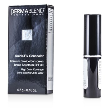 Dermablend Quick Fix Concealer Broad Spectrum SPF 30 (High Coverage Long Lasting Color Wear) - Medium 4.5g/0.16oz