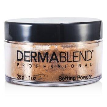 Dermablend Loose Setting Powder (Smudge Resistant Long Wearability) - Warm Saffron 28g/1oz