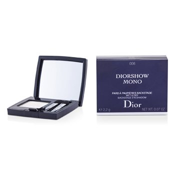 Christian Dior Diorshow Mono Wet & Dry Backstage Eyeshadow – # 006 Swan 2.2g/0.07oz