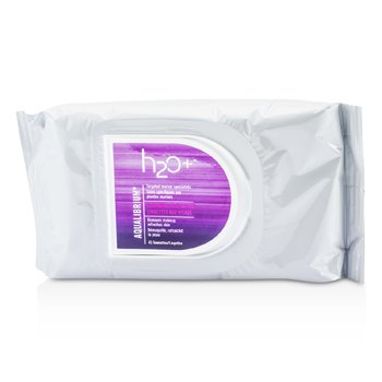 H2O+Aqualibrium Cleansing Face Wipes 45towelettes