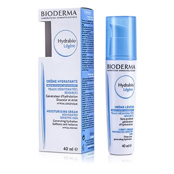 Bioderma Hydrabio Moisturising Light Cream (For Dehydrated Sensitive Skin)  40ml/1.35oz
