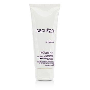 Decleor Hydra Floral 24hr Moisture Activator Light Cream (Salon Size)  100ml/3.3oz