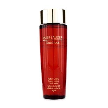 Estee Lauder Nutritious Radiant Vitality Energy Lotion Fresh Moist 200ml/6.7oz skincare