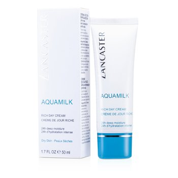 Lancaster Aquamilk Rich Day Cream (Dry Skin)  50ml/1.7oz
