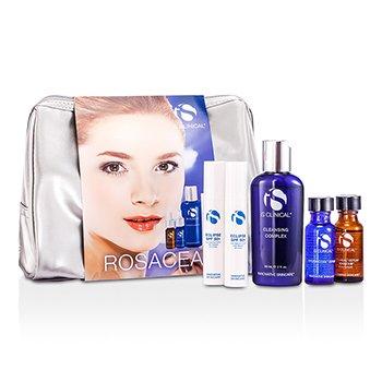 IS ClinicalRosacea Travel Kit: Cleansing Complex 60ml + Pro-Heal Serum Advanced  + 15ml + Hydra-Cool Serum + Eclipse SPF50 + 10g + Bag 5pcs+1bag