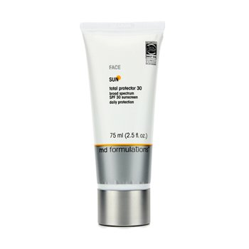 MD FormulationsSun Total Protector 30 For Face (New Packaging) 75ml/2.5oz