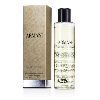 Giorgio ArmaniArmani Eau Pour Homme All Over Shampoo (New Version) 200ml/6.8oz
