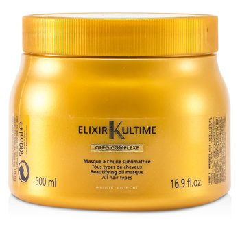 Elixir UltimeElixir Ultime Oleo-Complexe Beautifying Oil Masque (For All Hair Types) 500ml/16.9oz