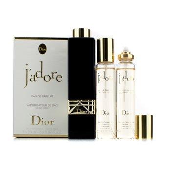 Christian Dior J'adore Eau De Parfum dodatno punjivi Purse Spray  3x20ml/0.7oz