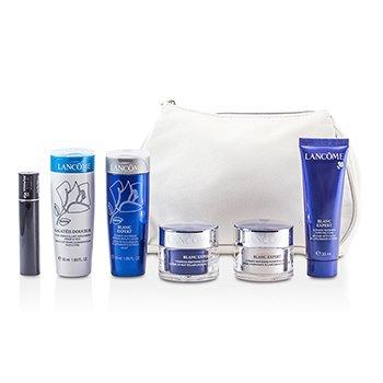 LancomeTravel Set: Beauty Lotion + Cleansing Fluid + Purifying Foam + Hydrating Cream + Night Cream + Mascara + Bag 6pcs+1bag