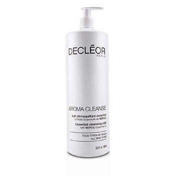 DecleorAroma Cleanse Essential Cleansing Milk (Salon Size) 1000ml/33.8oz