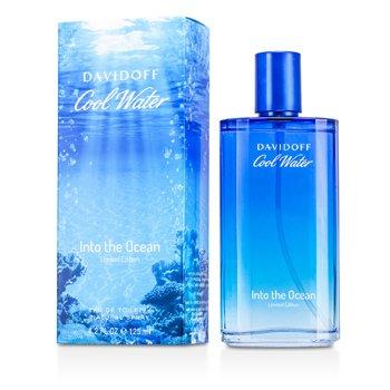DavidoffCool Water Into the Ocean Eau De Toilette Spray (Edici�n Limitada 2013) 125ml/4.2oz