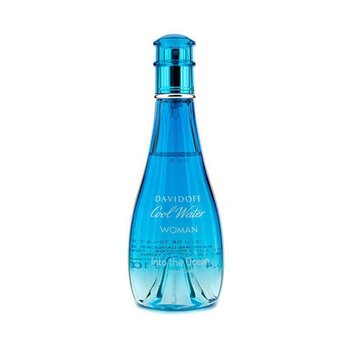 Davidoff Cool Water Into the Ocean Eau De Toilette Spray (Edici�n Limitada 2013)  100ml/3.4oz