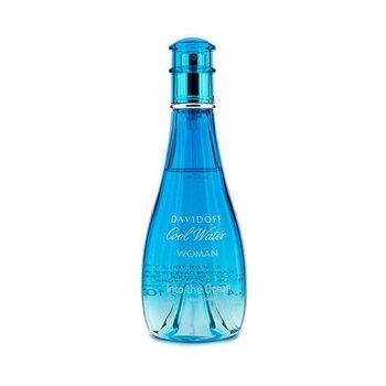 Davidoff Cool Water Into the Ocean Eau De Toilette Spray (Edici�n Limitada 2013)  100ml/3.4oz