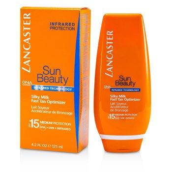 LancasterLeite hidratante Sun Beauty Silky Milk Fast Tan Optimizer SPF 15 (face & corpo) 125ml/4.2oz