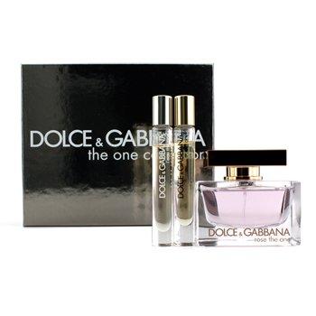 Dolce & GabbanaThe One Collection Coffret: Rose The One Eau De Parfum Spray 75ml/2.5oz + 2x Fragrance Pen 6ml/0.2oz 3pcs